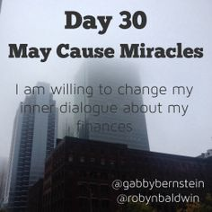 If you're just joining me for my journey reading May Cause Miracles by Gabby Bernstein you can find past week recaps here: Week 1 Week 2 Week 3 Week 4 Week 5 had us looking at our self-worth and how it can… May Cause Miracles, Gabrielle Bernstein, Week 5, Daily Affirmations, Change Me, Finance, Self, Spirit, Club