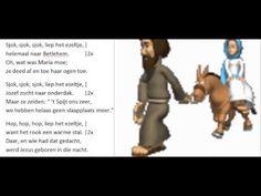 Sjok, sjok, sjok, liep het ezeltje (met tekst) - YouTube