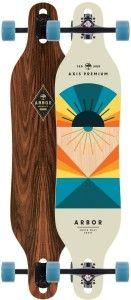 2. Arbor Axis Premium Longboard Skateboard 2017 Complete New