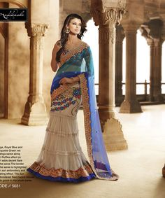 Awesome Designer Lehenga Saree For Bridal | Ethnic wear for women