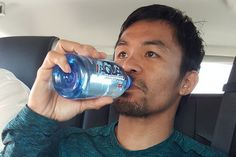 Manny Pacquiao loves brands and products and he would like to tell you about them