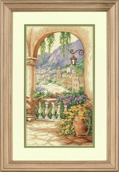 Dimensions - Counted Cross Stitch Kit - Terrace Arch