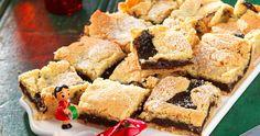 Läckra julrutor med vanilj och plommon