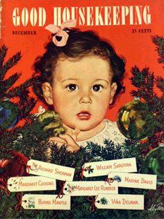 Vintage Christmas Magazine ~ Good Housekeeping * ©December, 1943