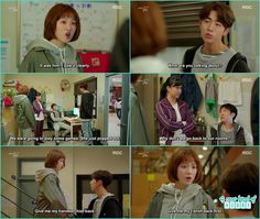 after joon hyung clearing himself not being a pervert he ask bok joo give him his handkerchief and bok joo ask give her the t shirt - Weightlifting Fairy Kim Bok Joo - Episode 1 (Eng Sub)