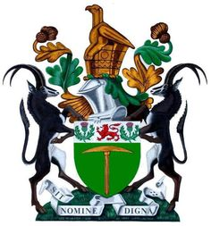 The coat of arms of Rhodesia