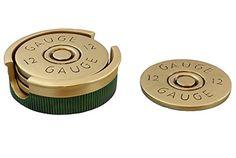 Shotgun Shot Shell Coaster Set - 4 Coasters - 12 Gauge Hu... https://www.amazon.com/dp/B01HDT1APE/ref=cm_sw_r_pi_dp_x_VdJ3zbNCVK1YP