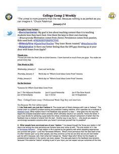 Jan. 2-4 Weekly syllabus (page 1)