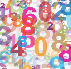 Abstract background with numbers poster #poster, #printmeposter, #mousepad