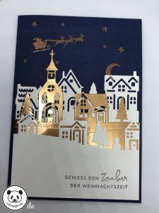 Stempelpanda | Stampin´ Up, SU, Weihnachten daheim, Winterstädtchen, Hearts Come Home, Hometown Greetings