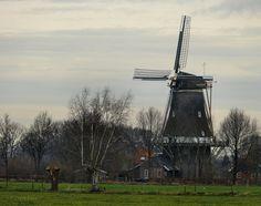 Windmolen 'De Ster' in Geesteren - Achterhoek