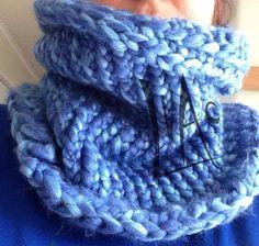 Cuello calientito crochet