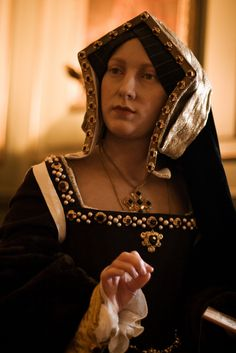 Wax Figure of Katherine of Aragon at Madame Tussaud's in London. 1st wife of Henry VIII