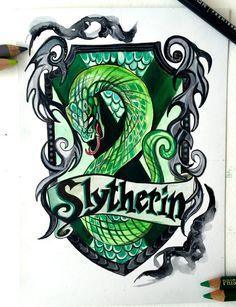 130- Slytherin by Lucky978.deviantart.com on @DeviantArt