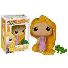 Figurine Disney Raiponce - Raiponce et Pascal Pop 10cm