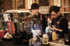 Cafe hunting in Hong Kong... The Academics. #cafes #hongkong #theacademics