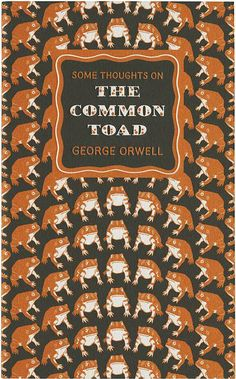 Some Thoughts on the Common Toad cover by Joe McLaren