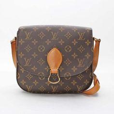 Louis Vuitton Saint Cloud Monogram Cross body bags Brown Canvas M51242