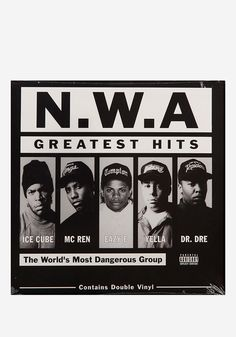 N.W.A.-Greatest Hits 2 LP Vinyl Record