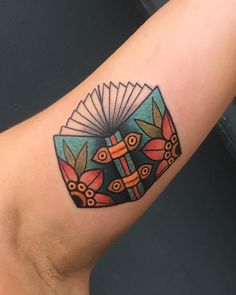 Traditional book tattoo by Allie Marie at Revolution tattoo in Chicago. #TraditionalTattoos