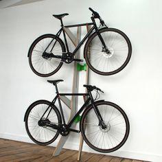 Cuando el diseño mejora nuestra vida: Blanchline soporte para bicis