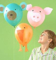 pig balloon animals