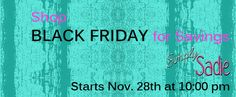 Shop #BlackFriday and save on www.SimplySadie.net.....why go out and fight the crowds, shop from home  #SimplySadie