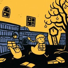 A perceptive review of books by one of my favorite current children's picture book authors, Kazuno Kohara, whose MIDNIGHT LIBRARY and GHOSTS IN THE HOUSE are magical, beautifully illustrated in a woodcut/print style. Recommended.