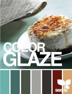 Color glaze palette: This would be perfect if it had red in it.