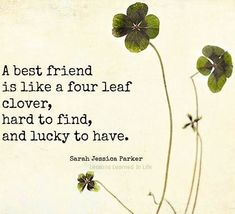 Discover and share Best Friend Quotes And Sayings With The 4 Leaf Clover. Explore our collection of motivational and famous quotes by authors you know and love. Bff Quotes, Best Friend Quotes, Cute Quotes, Friendship Quotes, Daily Quotes, Great Quotes, Quotes To Live By, Inspirational Quotes, Awesome Quotes
