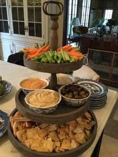A dinner and movie night with friends..... - The Enchanted Home