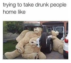 When you and your friends try to pile into one Uber: | 21 Photos Anyone Who Has Been Drunk AF Will Relate To