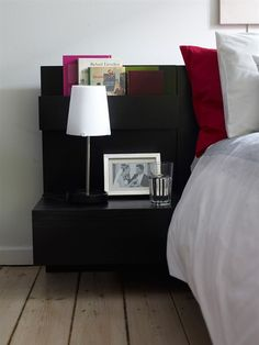 1000 images about headboards on pinterest headboards for Ikea platform bed with nightstands