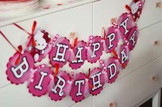 Jaelyn's Hello Kitty 4th Birthday | CatchMyParty.com