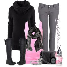 cute bow boots - Polyvore