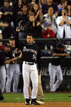 """""""Ichi"""" - Ichiro Suzuki, #Mariners Outfielder, 2001-2012"""