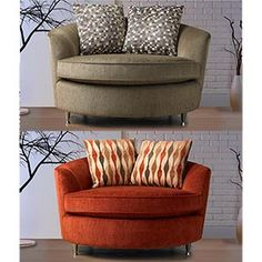 This chair for downstairs in the ash (the orange one)