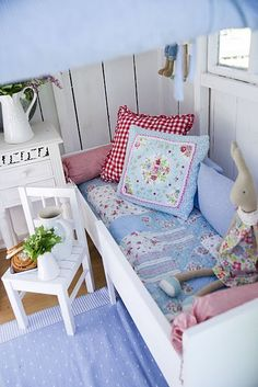 For the playhouse - girls cubby house