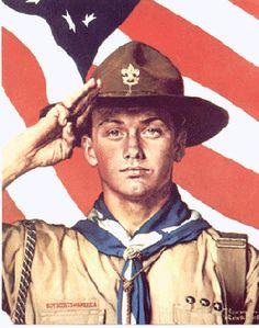 Norman Rockwell Boy Scouts Prints