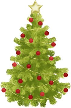 Clipart Of Christmas Tree