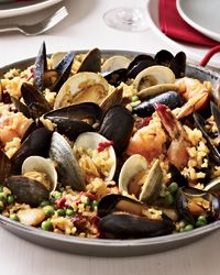 Paella Valenciana Recipe on Food & Wine