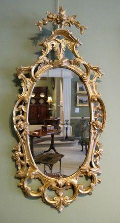 18th Century Gitwood Wall Mirror
