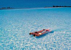 snorkeling in Cayo Largo beach