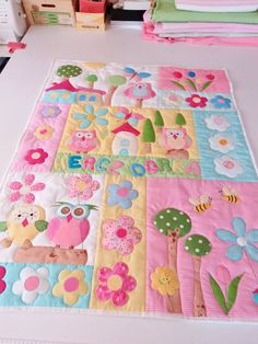 Baby quilting from net