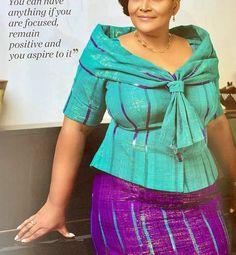 African Fashion Ankara, Ghanaian Fashion, African Print Fashion, African Wear, Nigerian Dress, Kente Dress, African Lace Dresses, Kente Styles, Blouse Designs