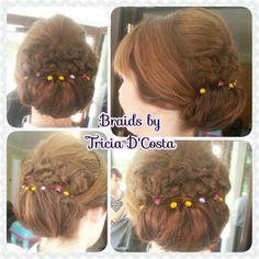 Braided Chignon by Tricia D'Costa www.triciadcosta.co.uk