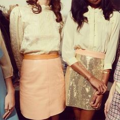 {weekend inspiration | by instagram : oysters & sequinned skirts} | Flickr - Photo Sharing!