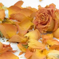Dried rose petals can be used for many things.