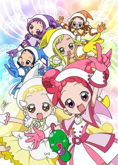 Magical Do Re Mi- remembered it from my childhood. Cartoon Shows, Anime Shows, Pretty Cure, Magical Girl, Old Anime, Anime Art, Doremi Anime, Studio Ghibli, Chibi