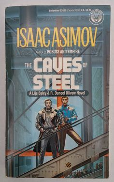 The first of Asimov's robot novels, chronicling the unlikely partnership between a New York City detective and a humanoid robot who must learn to work together. Detective Elijah Baley invesitgates the